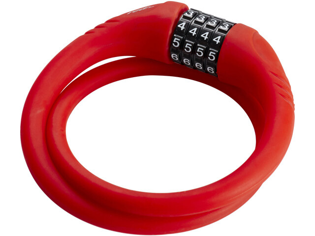 Red Cycling Products High Secure Silicon Cable Lock, red